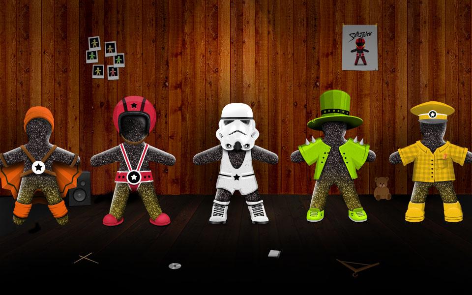 Nidar Laban - Salte Rockere - Characters